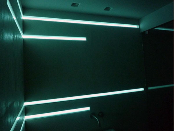 Design lumière veilleuse tamisée électroluminescente