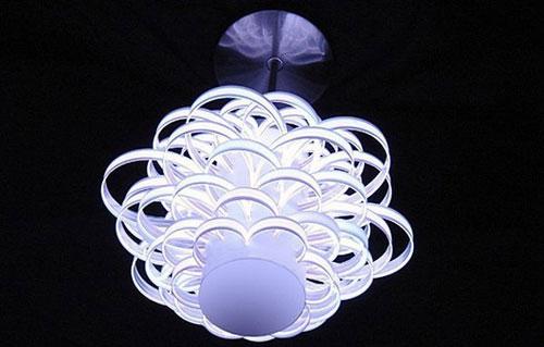 Mobilier électroluminescente lumière lampe
