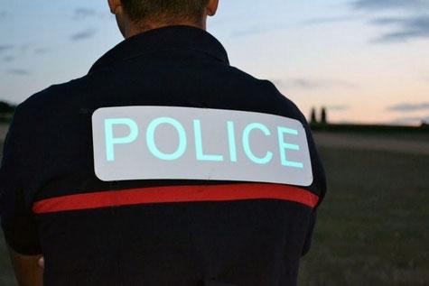 Gilet de police EL