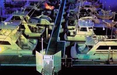 Ponton éclairage sécurité normes capitainerie