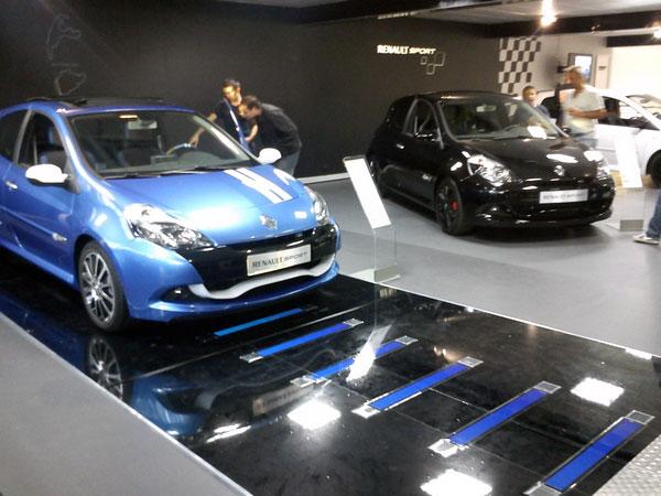 Renault sport électroluminescent Clio