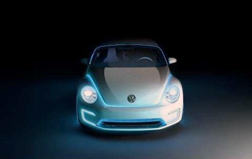 Voiture et carrosserie électroluminescentes