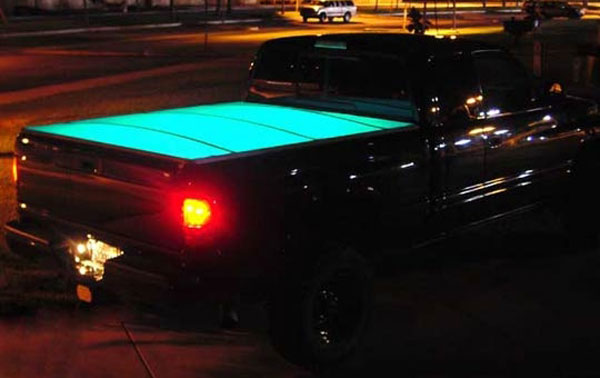 Scotch électroluminescent voiture SUV