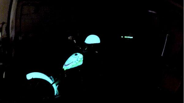 Produits de peinture électroluminescente