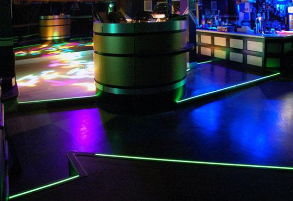 showroom boite de nuit électroluminescent vente
