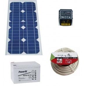 Kit Panneau électroluminescent photovoltaïque
