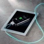Ipad et recharge IPhone électroluminescente