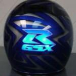Casque Suzuki GSXR électroluminescent